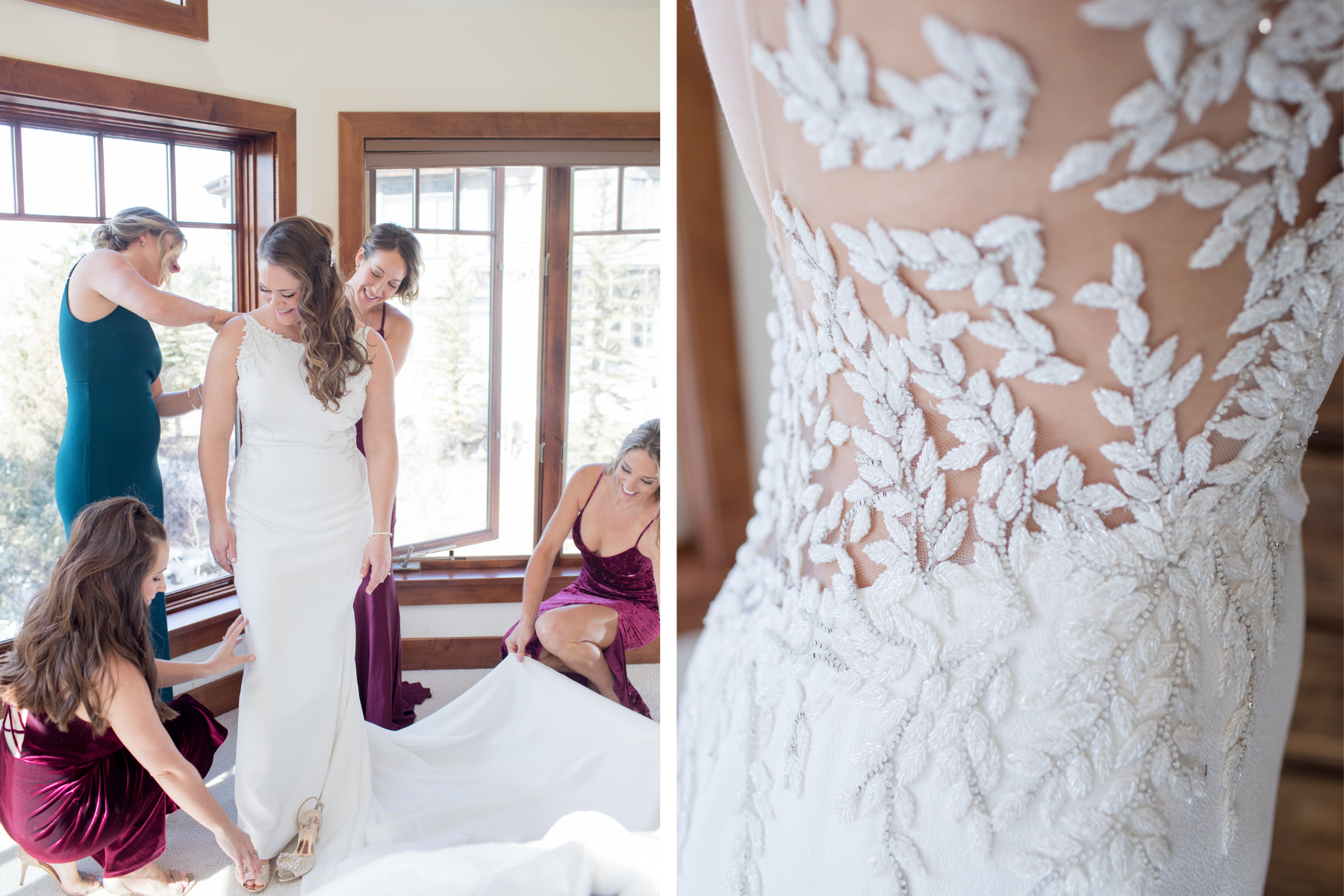 Wedding Dress Photographer Beaver Creek