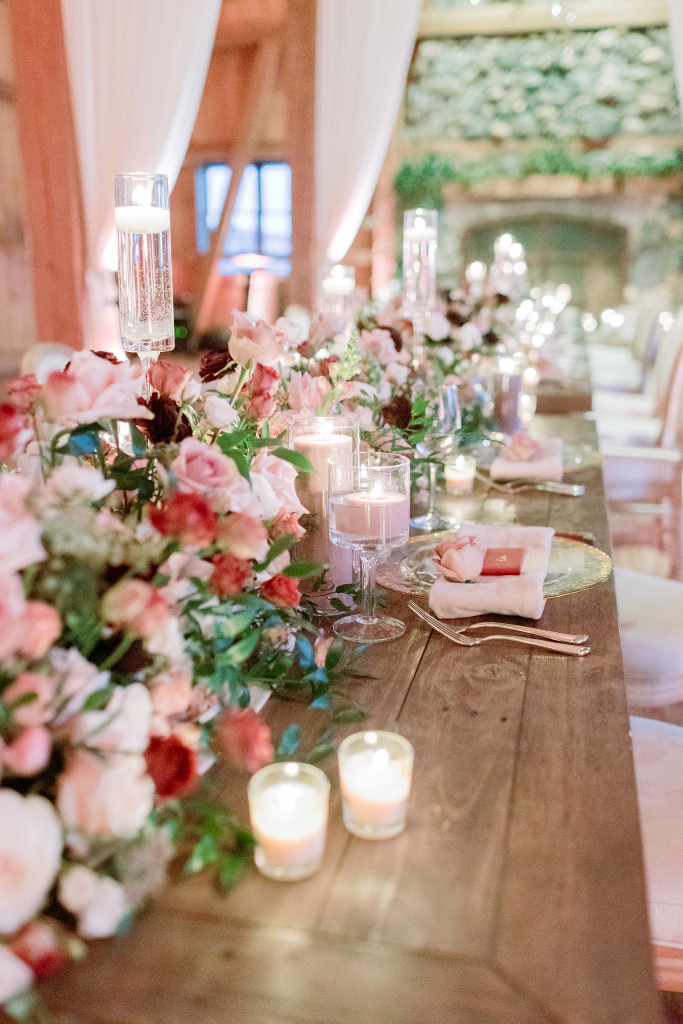 Devils-Thumb-Ranch-Tabernash-Colorado-Winter-Broad-Axe-Barn-Reception-LaRue-Florals