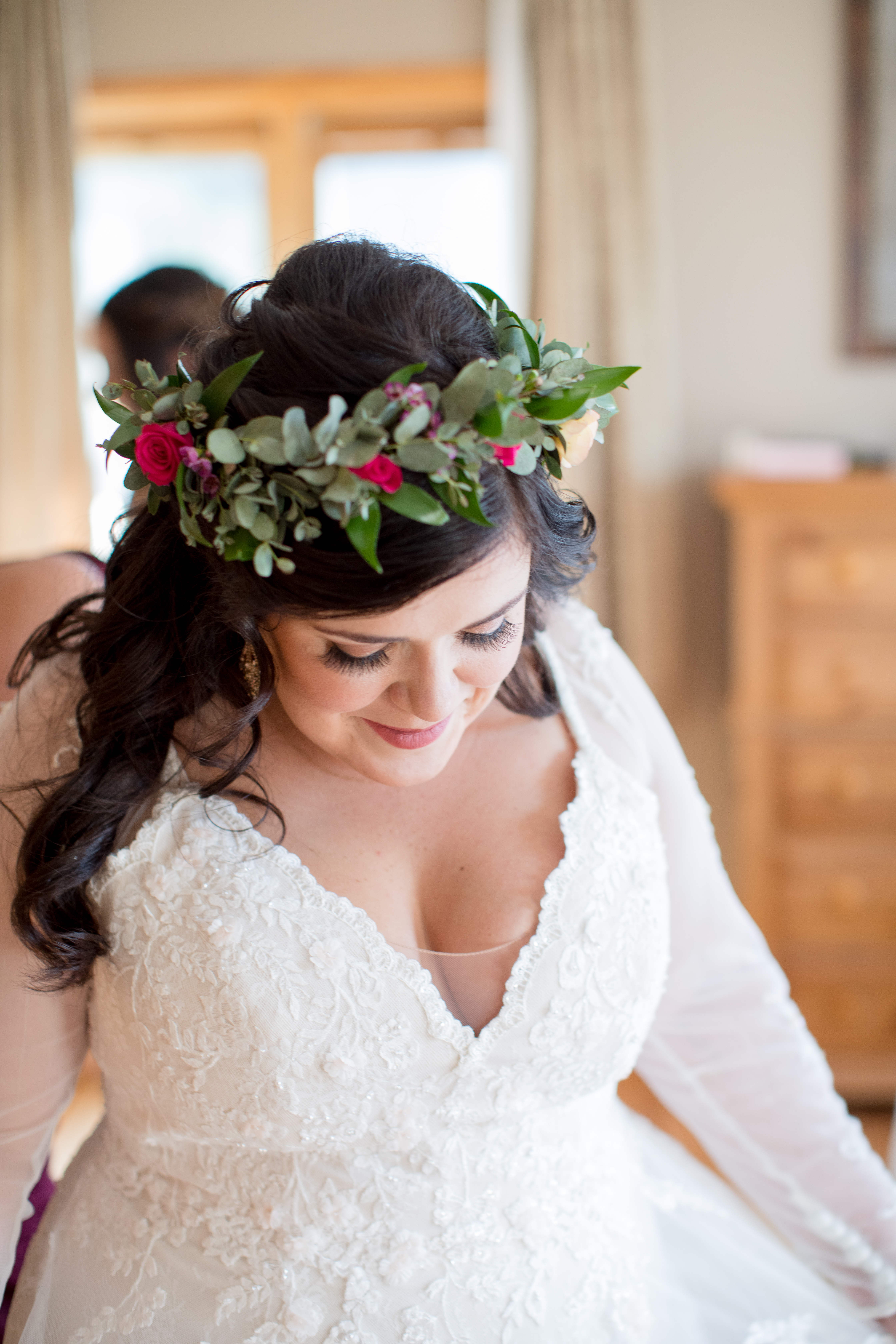 Private-Home-Rental-Wedding-VRBO-Fall-Breckenridge-Colorado-Bride-Flower-Crown