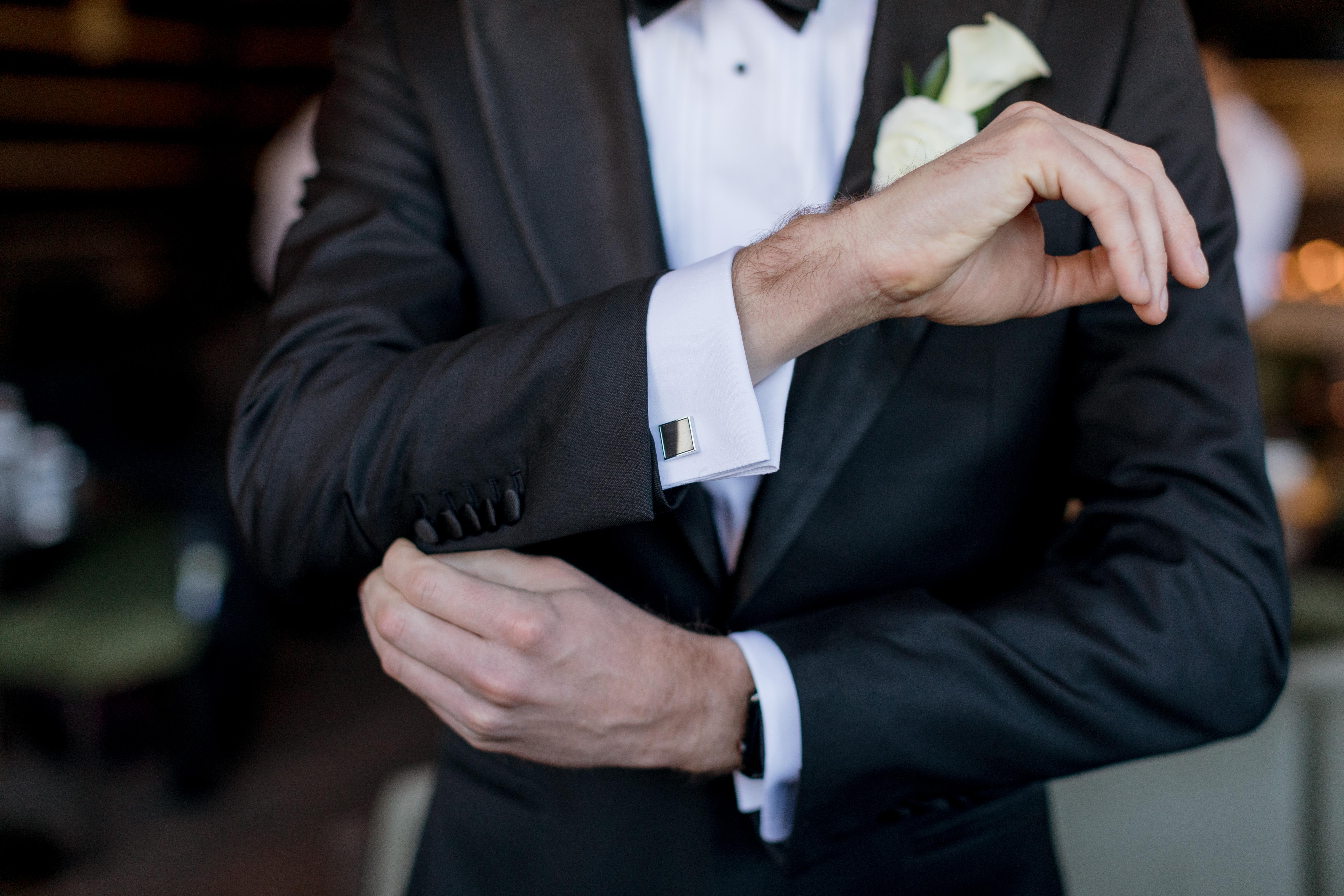 Ritz-Carlton-Bachelor-Gulch-Beaver-Creek-Colorado-Fall-Wedding-Groom-Cuff-Links