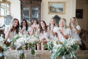 Bridesmaids at Tivoli Lodge in Vail Colorado