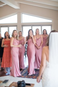 Girls Getting Ready Room for Wedding at Tivoli Lodge in Vail Colorado